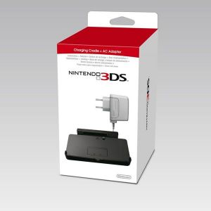 NINTENDO 3DS CHARGING CRADLE + AC ADAPTER (3DS)