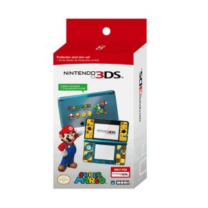 NINTENDO 3DS SUPER MARIO PROTECTOR & SKIN SET (3DS)