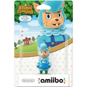 NINTENDO AMIIBO Φιγούρα: CYRUS Animal Crossing Series