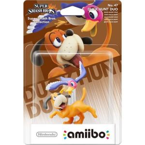 NINTENDO AMIIBO Φιγούρα: DUCK HUNT DUO No.47 Super Smash Bros. Series