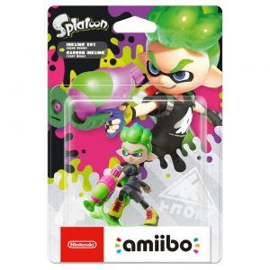 NINTENDO AMIIBO Φιγούρα: INKLING BOY NEON GREEN Splatoon Series