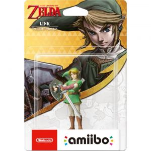 NINTENDO AMIIBO Φιγούρα: LINK TWILIGHT PRINCESS The Legend Of Zelda Series