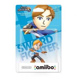 NINTENDO AMIIBO Φιγούρα: MII SWORD FIGHTER No.49 Super Smash Bros. Series