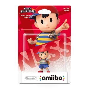 NINTENDO AMIIBO Φιγούρα: NESS No.34 Super Smash Bros. Series