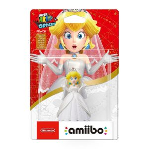 NINTENDO AMIIBO Φιγούρα: PEACH WEDDING Super Mario: Odyssey Series