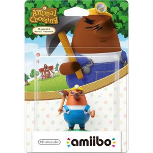 NINTENDO AMIIBO Φιγούρα: RESETTI Animal Crossing Series