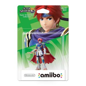 NINTENDO AMIIBO Φιγούρα: ROY No.55 Super Smash Bros. Series