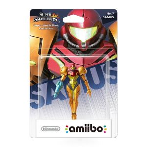 NINTENDO AMIIBO Φιγούρα: SAMUS No.7 Super Smash Bros. Series