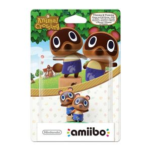 NINTENDO AMIIBO Φιγούρα: TIMMY & TOMMY Animal Crossing Series