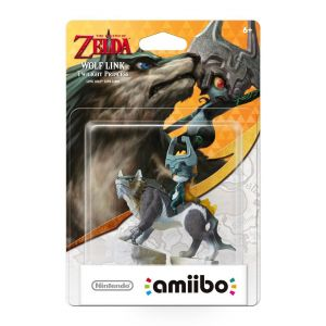 NINTENDO AMIIBO Φιγούρα: WOLF LINK TWILIGHT PRINCESS The Legend Of Zelda Series