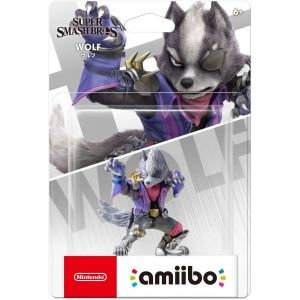 NINTENDO AMIIBO Φιγούρα: WOLF Super Smash Bros. Series