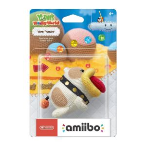 NINTENDO AMIIBO Φιγούρα: YARN POOCHY YoshI's Woolly World Series