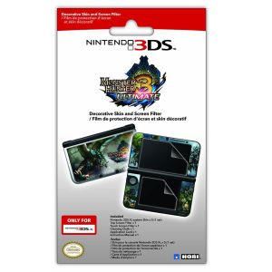 NINTENDO LICENCED - MONSTER HUNTER 3 ULTIMATE FILTER AND SKIN SET [3DS XL] (3DS)