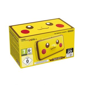 NINTENDO New 2DS XL CONSOLE - Pikachu Edition