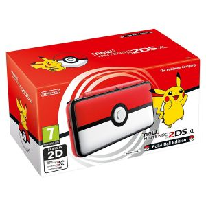 NINTENDO New 2DS XL CONSOLE - Poke Ball Edition