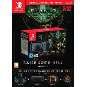 NINTENDO SWITCH CONSOLE Grey JOY-CON 32GB - DIABLO III Limited Edition (NSW)