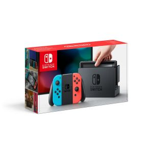 NINTENDO SWITCH CONSOLE Red & Blue JOY-CON 32GB (NSW)