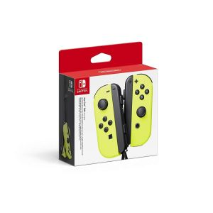 NINTENDO SWITCH JOY-CON PAIR Neon Yellow (NSW)