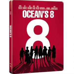 OCEAN'S 8 Limited Edition Steelbook [Imported] (BLU-RAY)