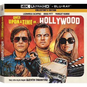 ONCE UPON A TIME IN HOLLYWOOD 4K+2D - ΚΑΠΟΤΕ ΣΤΟ ΧΟΛΙΓΟΥΝΤ 4K+2D  Limited Collector's Vinyl Edition Digipack ΑΠΟΚΛΕΙΣΤΙΚΟ (4K UHD BLU-RAY + BLU-RAY 2D + VINYL)