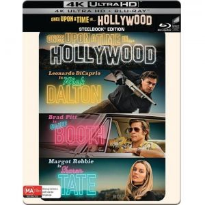 ONCE UPON A TIME IN HOLLYWOOD 4K+2D Limited Edition Steelbook (4K UHD BLU-RAY + BLU-RAY 2D)