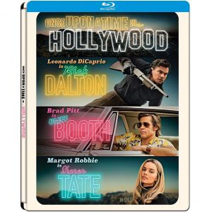 ONCE UPON A TIME IN HOLLYWOOD Limited Edition Steelbook (BLU-RAY)