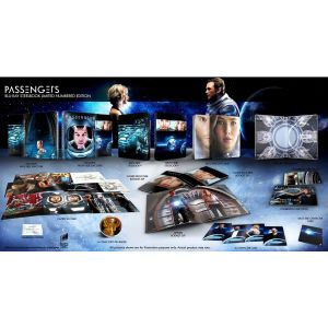 PASSENGERS 3D Limited Collector's Numbered Edition Steelbook + PHOTOBOOK (BLU-RAY 3D + BLU-RAY)