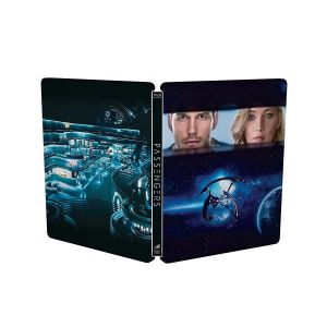PASSENGERS 3D Limited Edition Steelbook [Imported] (BLU-RAY 3D + BLU-RAY)
