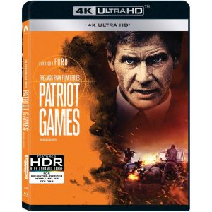 PATRIOT GAMES 4K (4K UHD BLU-RAY)