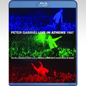 PETER GABRIEL: LIVE IN ATHENS 1987 (BLU-RAY + DVD)