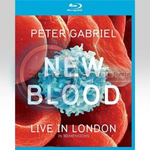 PETER GABRIEL: NEW BLOOD - LIVE IN LONDON IN 3 DIMENSIONS (BLU-RAY 3D + BLU-RAY + DVD)