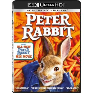 PETER RABBIT 4K+2D (4K UHD BLU-RAY + BLU-RAY 2D)