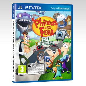 PHINEAS & FERB: DAY OF DOOFENSMIRTZ [ΕΛΛΗΝΙΚΟ] (PS VITA)