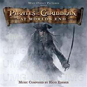 PIRATES OF THE CARIBBEAN 3: AT WORLD'S END  - ORIGINAL MOTION PICTURE SOUNDTRACK (AUDIO CD)