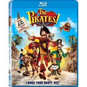PIRATES! THE BAND OF THE MISFITS - ΠΕΙΡΑΤΕΣ! (BLU-RAY) ***SONY EXCLUSIVE***