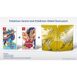 POKEMON SWORD & SHIELD Dual Pack (SWITCH)