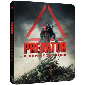 PREDATOR 3-MOVIE COLLECTION Limited Edition Steelbook (3 BLU-RAY)