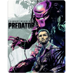 PREDATOR 3D - Ο ΚΥΝΗΓΟΣ 3D Limited Edition Steelbook NEW VISUAL ΑΠΟΚΛΕΙΣΤΙΚΟ (BLU-RAY 3D/2D)
