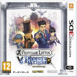 PROFESSOR LAYTON VS PHOENIX WRIGHT ACE ATTORNEY (3DS, 2DS)