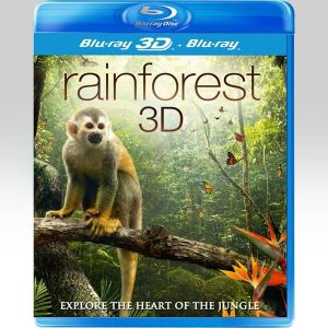 RAINFOREST 3D [Imported] (BLU-RAY 3D + BLU-RAY)
