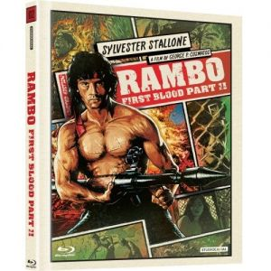 RAMBO: FIRST BLOOD PART II [ΧΩΡΙΣ ΥΠΟΤΙΤΛΟΥΣ] Limited Collector's DigiBook Edition (BLU-RAY)