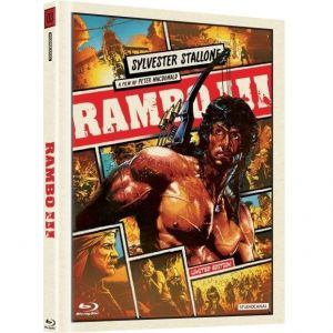 RAMBO III [ΧΩΡΙΣ ΥΠΟΤΙΤΛΟΥΣ] Limited Collector's DigiBook Edition (BLU-RAY)