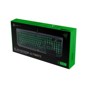 RAZER - BLACKWIDOW ULTIMATE KEYBOARD (GREEN SWITCH) WATER RESISTANT [US] RZ03-01703000-R3M1