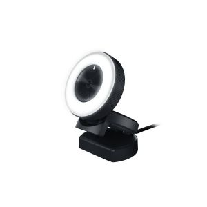 RAZER - KIYO Ring Light Equipped Broadcasting Camera RZ19-02320100-R3M1