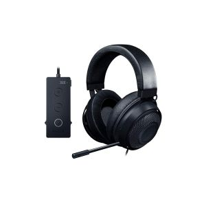 RAZER - KRAKEN TOURNAMENT THX Audio Controller - Cooling Gel Ear Cups - Gaming Headset BLACK RZ04-02051000-R3M1