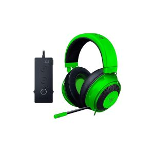 RAZER - KRAKEN TOURNAMENT THX Audio Controller - Cooling Gel Ear Cups - Gaming Headset GREEN RZ04-02051100-R3M1