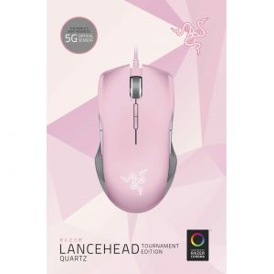 RAZER - LANCEHEAD TOURNAMENT EDITION Gaming Optical Mouse QUARTZ PINK