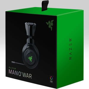 RAZER - MANO'WAR 7.1 WIRELESS USB GAMING HEADSET RZ04-01490100-R3G1 (PC, PS4)