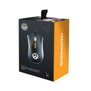 RAZER - OVERWATCH DEATHADDER ELITE CHROMA GAMING MOUSE RZ01-02010300-R3M1
