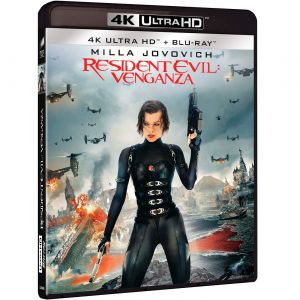 RESIDENT EVIL 5: RETRIBUTION [Imported] (4K UHD BLU-RAY)
